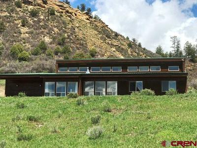 Pagosa Springs Single Family Home For Sale: 500 Running Horse Place
