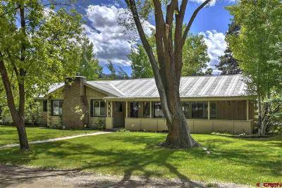 La Plata County Single Family Home UC/Contingent/Call LB: 30 Hermosa Drive
