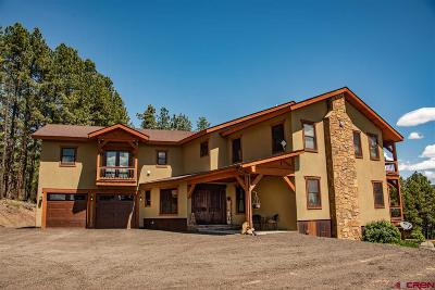 Pagosa Springs Single Family Home For Sale: 1950 Cr 400