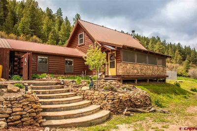 Pagosa Springs Single Family Home UC/Contingent/Call LB: 425 River Run Drive
