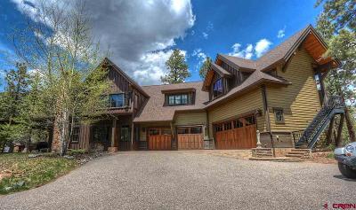 La Plata County Single Family Home For Sale: 90 Hideout Trail #3