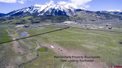 Gunnison County Residential Lots & Land For Sale: Highway 135