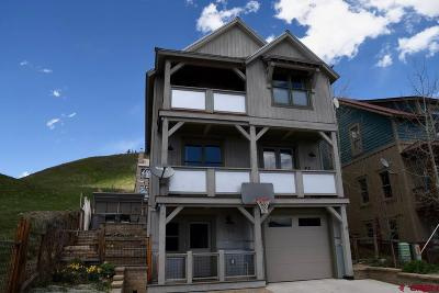 Mt. Crested Butte Single Family Home UC/Contingent/Call LB: 120 Big Sky Drive
