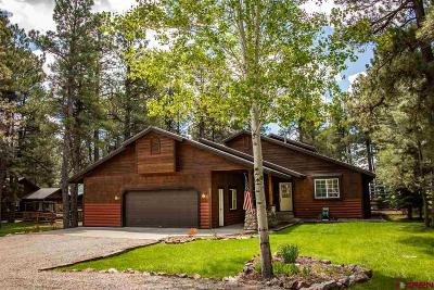 Pagosa Springs Single Family Home UC/Contingent/Call LB: 790 Cloud Cap