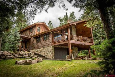 Pagosa Springs Single Family Home For Sale: 253 Wapiti Place