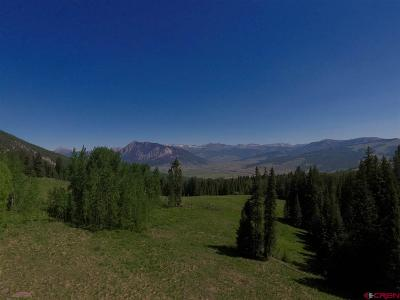 Crested Butte Residential Lots & Land For Sale: 1760 Red Mountain Ranch Lower Loop