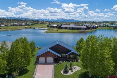 Pagosa Springs Single Family Home UC/Contingent/Call LB: 140 Peninsula Place