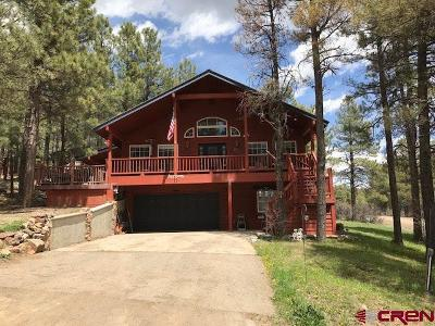 Pagosa Springs Single Family Home For Sale: 11 Emissary
