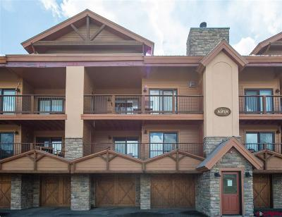 Mt. Crested Butte Condo/Townhouse UC/Contingent/Call LB: 20 Hunter Hill Road #103