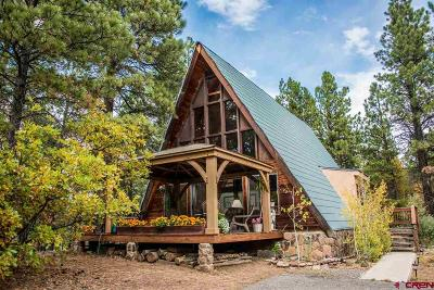 Pagosa Springs Single Family Home UC/Contingent/Call LB: 1965 Shenandoah Drive