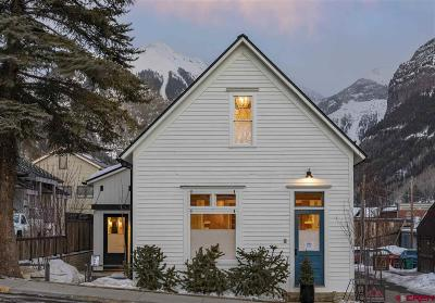 Telluride Condo/Townhouse For Sale: 120 N Fir Street #East