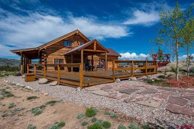 Gunnison Single Family Home For Sale: 8350 High Country Road