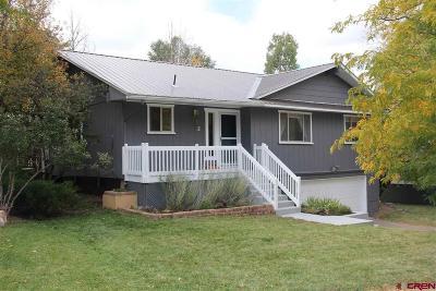 Durango Single Family Home For Sale: 11 Maple Drive