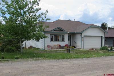 Pagosa Springs Single Family Home UC/Contingent/Call LB: 148 Arrowhead Drive
