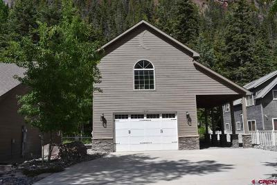 Ouray Single Family Home For Sale: 1546 Oak