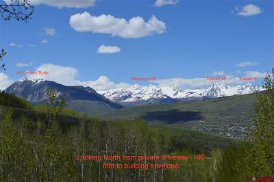 Gunnison County Residential Lots & Land For Sale: 1363 Red Mountain Ranch