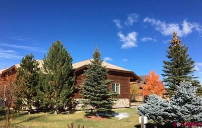Pagosa Springs Single Family Home For Sale: 351 Blue Heron Circle