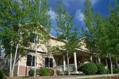 Pagosa Springs Condo/Townhouse For Sale: 20 Timberline Drive #E