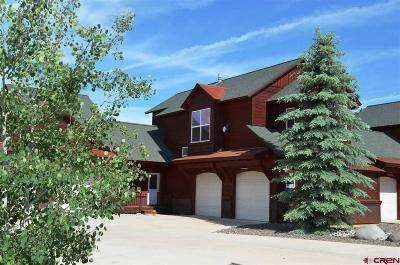 Pagosa Springs Condo/Townhouse For Sale: 620 Lakeside Drive #Unit #2