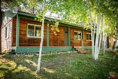 Pagosa Springs Single Family Home For Sale: 32 S Birdie