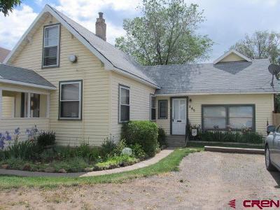 Cedaredge Single Family Home For Sale: 265 S Grand Mesa Drive