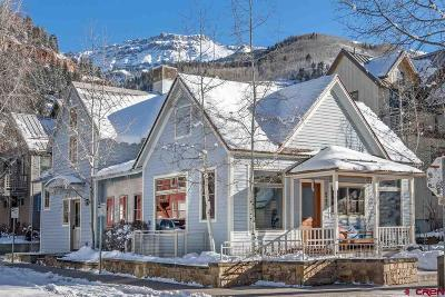 Telluride Single Family Home For Sale: 573 W Pacific Avenue