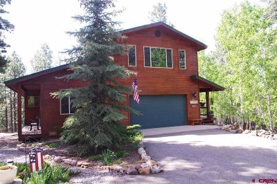 Bayfield Single Family Home For Sale: 692 Skyline Drive
