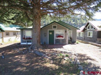 South Fork CO Single Family Home For Sale: $169,000