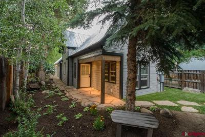 Crested Butte Single Family Home For Sale: 26 Elk Avenue