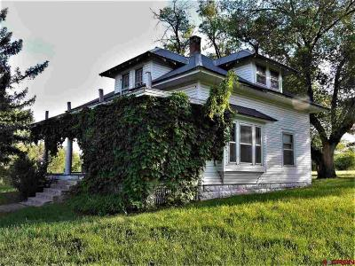 Crawford, Hotchkiss, Paonia Single Family Home For Sale: 39778 Pitkin Road