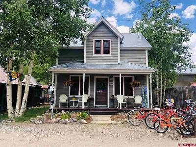 Crested Butte Single Family Home For Sale: 112 Second Street