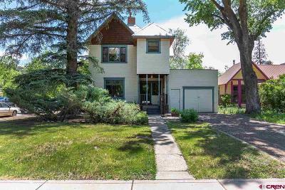 La Plata County Single Family Home For Sale: 774 E 3rd Avenue
