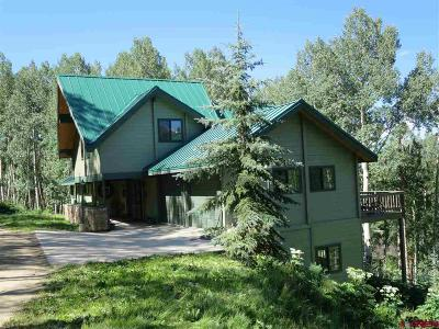 Gunnison County Single Family Home For Sale: 40 Ruby Drive