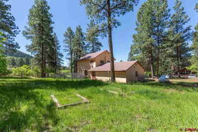 La Plata County Single Family Home UC/Contingent/Call LB: 96 Mountain Oak