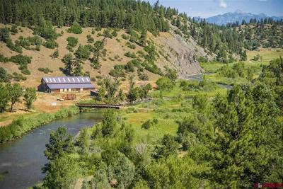 Pagosa Springs Single Family Home For Sale: 8622 County Road 500 Crossroad