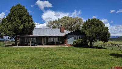 Bayfield Single Family Home UC/Contingent/Call LB: 16 County Road 526