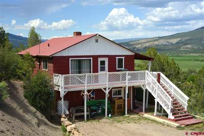 Pagosa Springs Single Family Home For Sale: 155 Lake View Drive