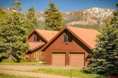 Pagosa Springs Single Family Home For Sale: 60 Rodeo Grounds Drive