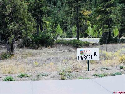 Durango Residential Lots & Land For Sale: 46 Larkspur Street