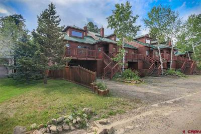 Pagosa Springs Condo/Townhouse For Sale: 986 Cloud Cap
