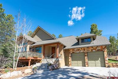 Durango Single Family Home For Sale: 46 Mill Creek Court