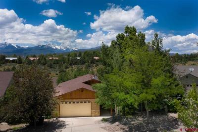 Durango Single Family Home For Sale: 17 Ophir Drive