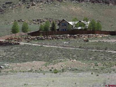 Gunnison Single Family Home For Sale: 43155 Us Highway 50