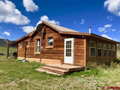 Gunnison Single Family Home For Sale: 7208 County Road 50