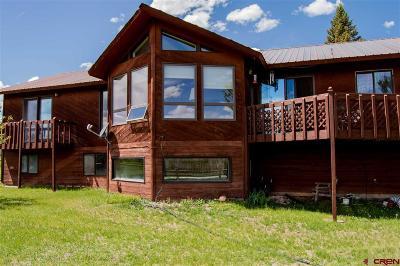 Single Family Home For Sale: 38367 Stucker Mesa Road