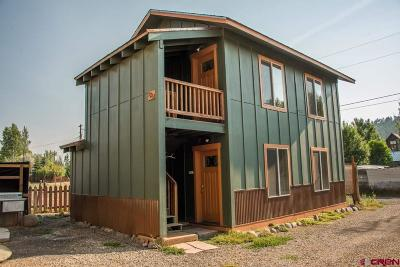 Pagosa Springs Single Family Home For Sale: 526 S 6th Street #526 A,