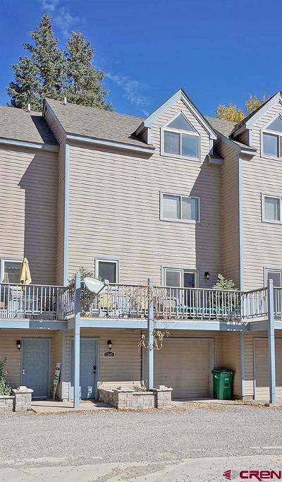 Ouray Condo/Townhouse For Sale: 1243 Park Road