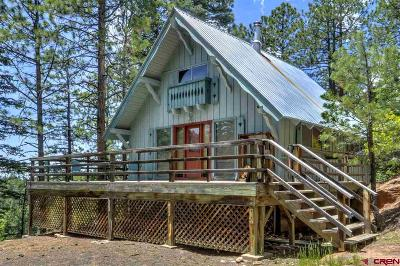 La Plata County Single Family Home For Sale: 7 Ridge Crest Drive
