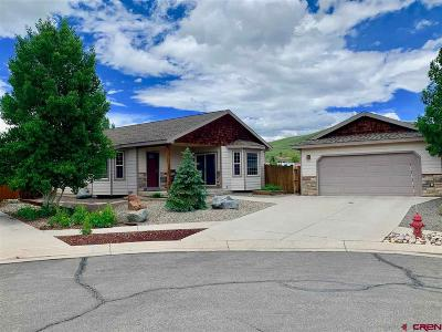 Gunnison Single Family Home UC/Contingent/Call LB: 800 Sunny Slope Drive