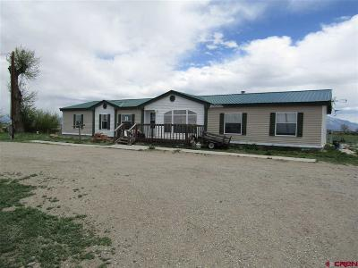 Alamosa Mobile/Manufactured For Sale: 10140 County Road 2 South